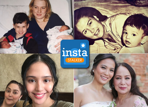 Celebrities proudly show off their moms on Mother's Day