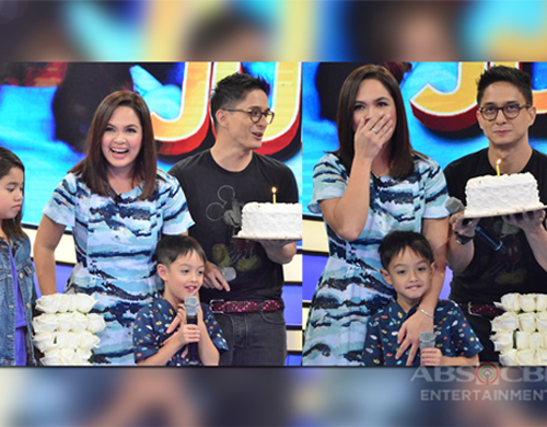 IN PHOTOS: Ryan and kids' birthday surprise for Judy Ann on Bet On Your Baby