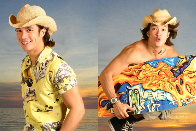 Throwback: Diether Ocampo in Bora: Sons of the Beach (2005)