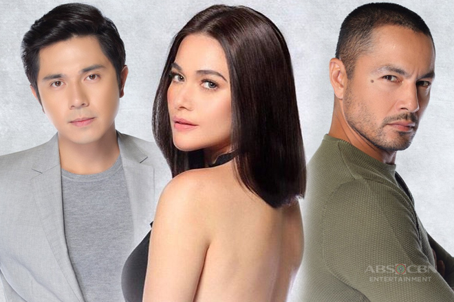 LOOK: Bea, Paulo and Derek in Star Cinema's