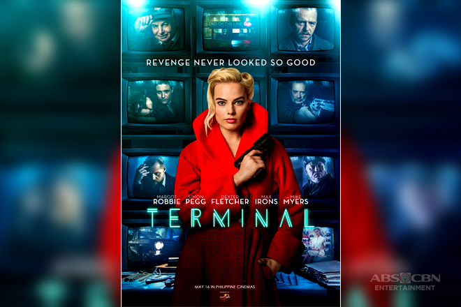 See a femme fatale Margot Robbie in 'Terminal'