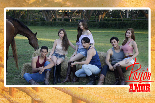 Throwback: Arci, Ellen, Coleen, Jake, Ejay and Joseph in Pasion de Amor (2015)