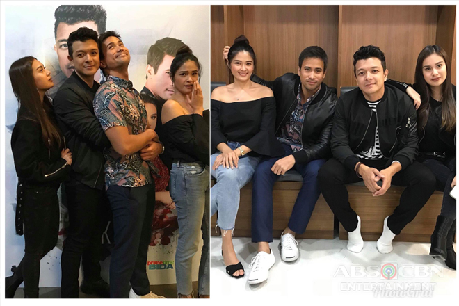 PHOTOS: 'Halik' stars Echo, Sam, Yen and Yam at Aegis Concert