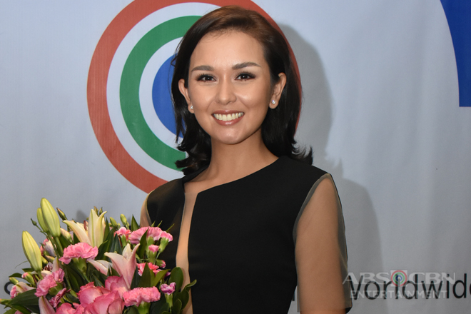 PHOTOS: Beauty Gonzalez signs contract with ABS-CBN