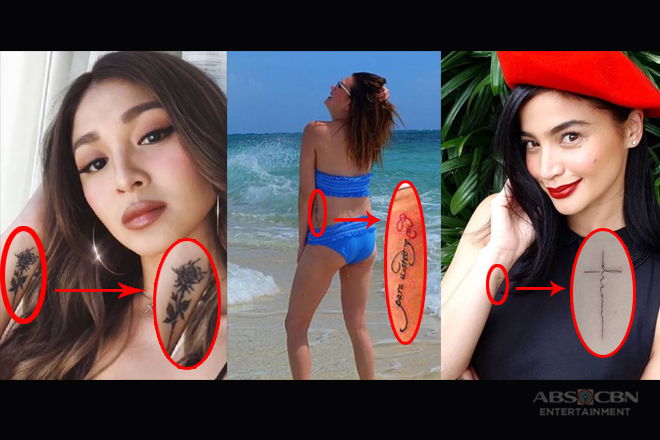 LOOK! Pinay Celebs You May Not Know Have Tattoos