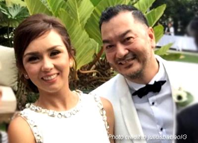 Beauty Gonzalez weds Norman Crisologo in Tagaytay