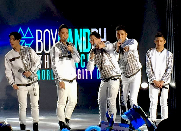 BoybandPH spread unli 'kilig' in their first digital concert