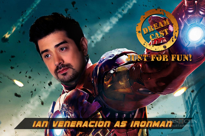 JUST FOR FUN: Ian Veneracion would best portray fantasy Iron Man, say netizens
