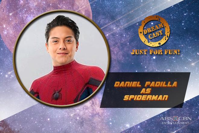 JUST FOR FUN: Daniel Padilla is netizens' fantasy choice as Spiderman in fun poll