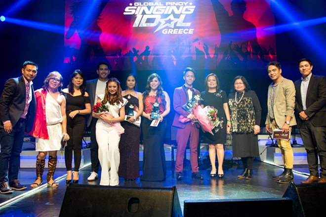 Filipino-Greek student named DZMM Global Pinoy Singing Idol