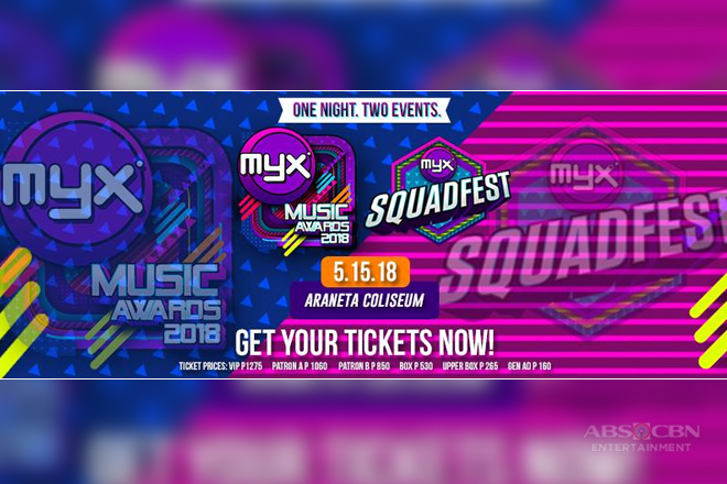 MYX Music Awards celebrates 13th year at the Big Dome
