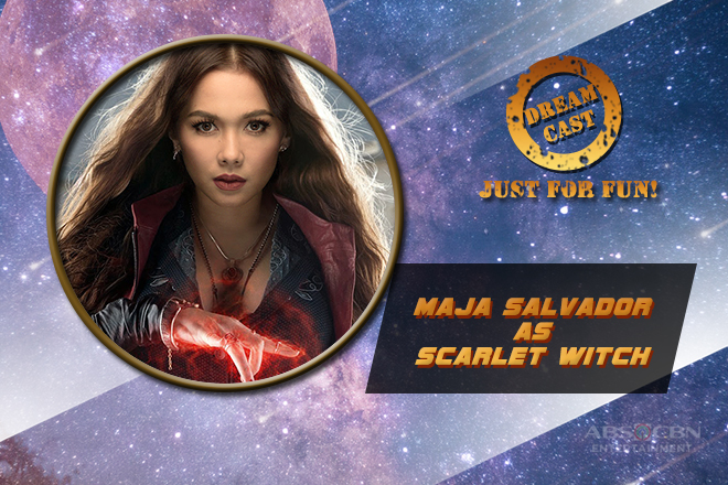 JUST FOR FUN: Netizens deem Maja Salvador as their imaginary Scarlet Witch