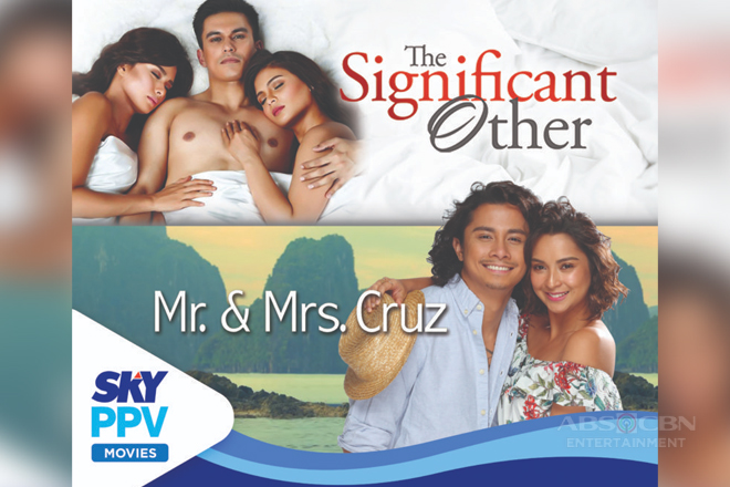 """Mr. and Mrs. Cruz"" premieres on TV via SKY Movies PPV"