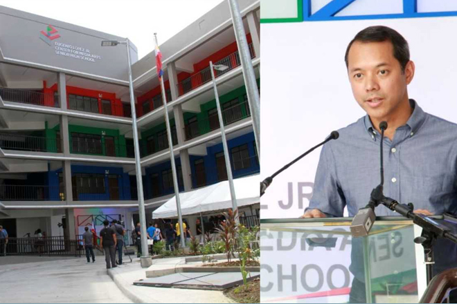 Eugenio Lopez Jr. Center for Media Studies now an independent senior high school