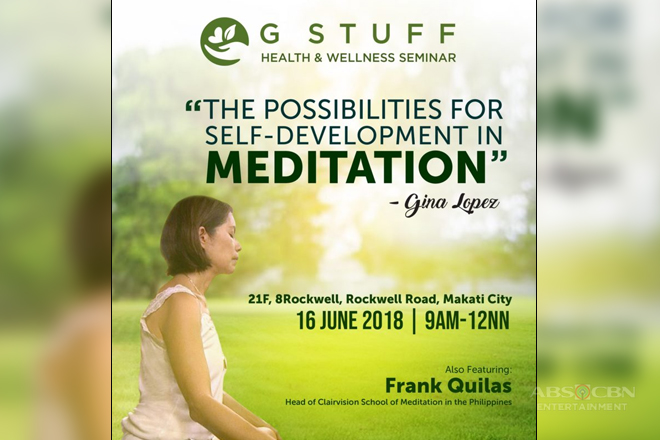 Discover the possibilities for self-development in meditation by Gina Lopez