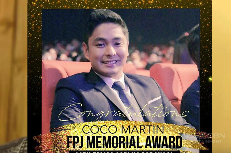 Coco wins FPJ Memorial Award at 66th FAMAS