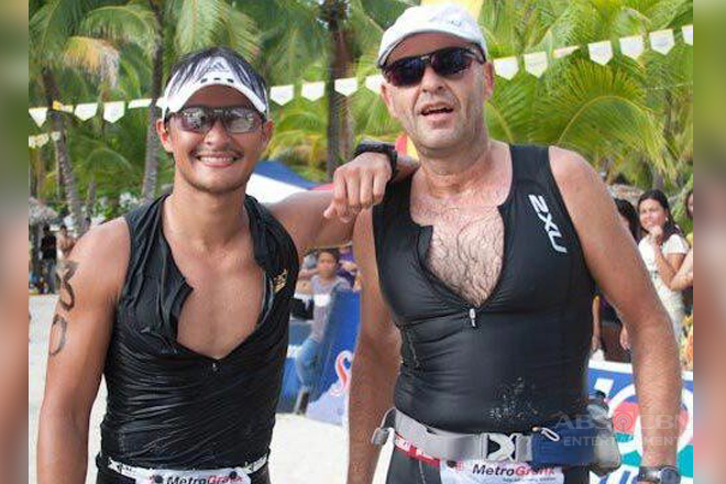 "Matteo Guidicelli shows his love for his dad on ""Sports U"""