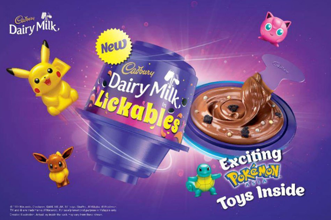'Unidentified Object' Revealed- the new Cadbury Dairy Milk Lickables has finally landed!