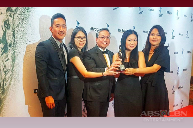 """ABS-CBN named one of the """"Best Companies to Work for in Asia"""" by HR Asia"""