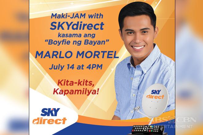 "Makisaya kasama ang ""Boyfie Ng Bayan,"" Marlo Mortel sa SKYdirect Jam sa SM City Cabanatuan"