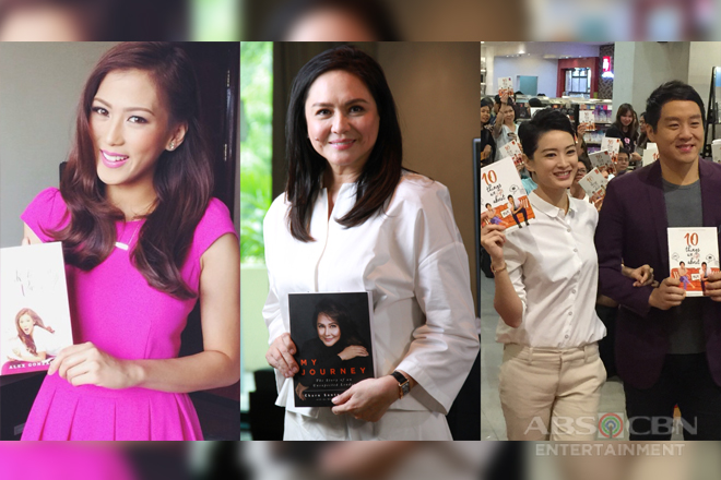 Books by celebrity authors Alex, Charo, Maricar, and more, now on Shopee