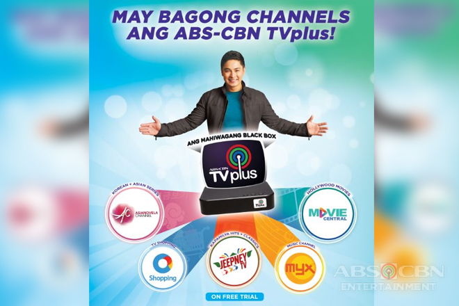 More choices for Filipinos with five new ABS-CBN TVplus channels