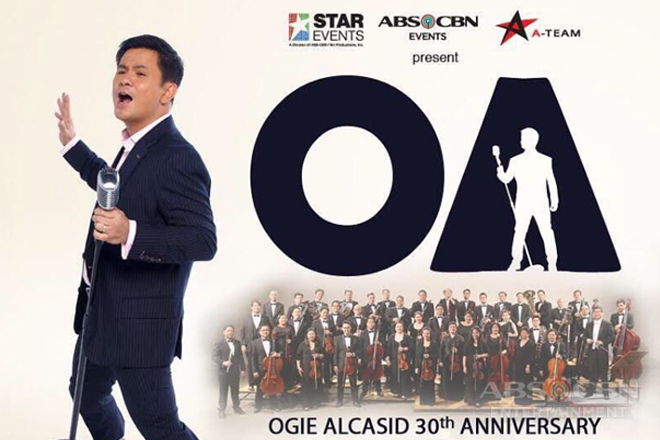 "Ogie celebrates 30th milestone with ""OA"" concert"