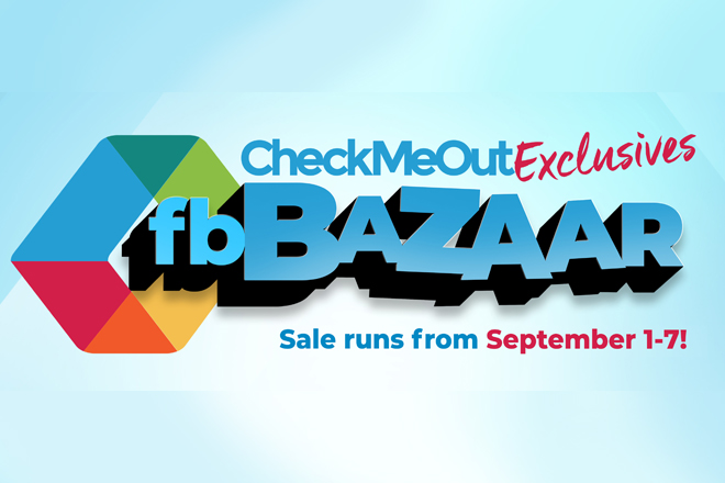 Get your Christmas shopping done early at the CheckMeOut Exclusives FB Bazaar!