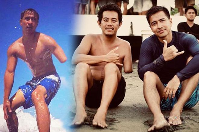 """PHOTOS: Kilalanin ang one-armed surfer na ginampanan ni RK Bagatsing sa MMK """"Surfboard"""""""