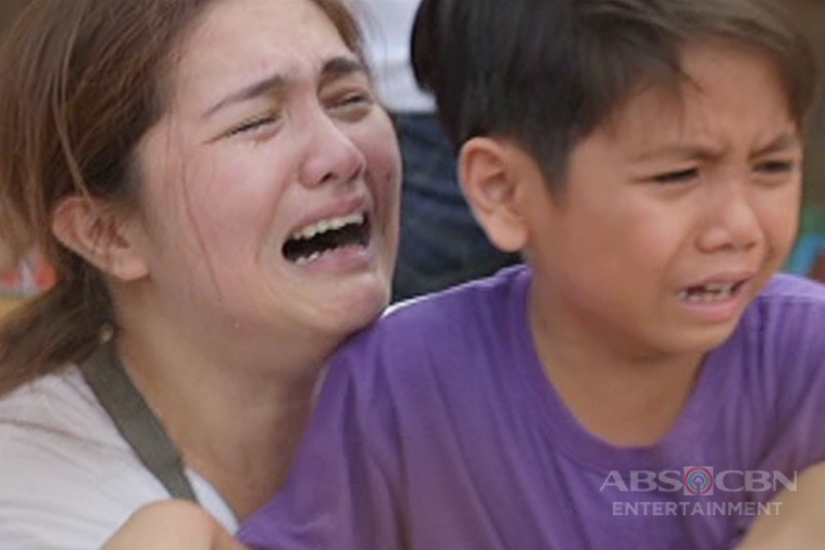 Character of Dimples Romana's reunion with her child in MMK moves viewers to tears