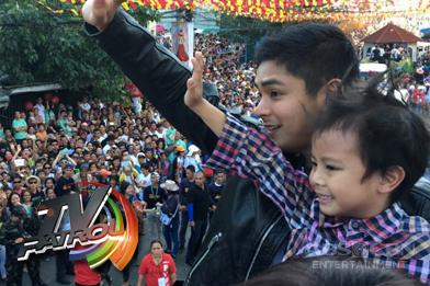 Kapamilya stars, nakisaya sa Sinulog festival sa Cebu