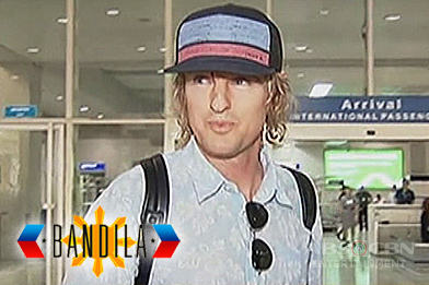 Hollywood Actor Owen Wilson, bumisita sa Pilipinas