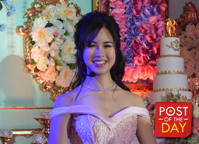 WATCH: A peek at Kisses Delavin's fab debut party