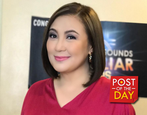 LOOK: Sharon Cuneta starts shooting for her indie film