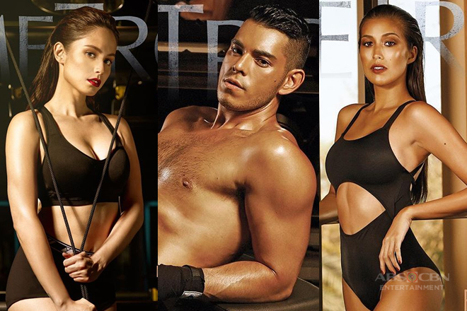 Jessy Mediola, Rachelle Peters and Raymond Guttierez, sexy sa cover ng isang magazine