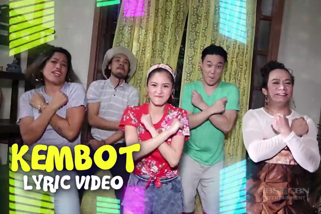 LYRIC VIDEO: Maki-'KEMBOT' na with the 'DOTGA' squad!