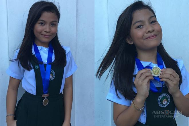 Lyca Gairanod, nakatanggap ng medal sa Recognition Day sa kanyang school