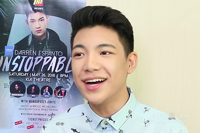 HOTSPOT: 'Sing That Sentence' challenge with Darren Espanto