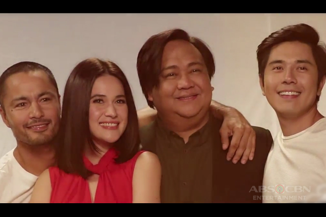WATCH: Kasal Promo Shoot with Bea, Paulo and Derek