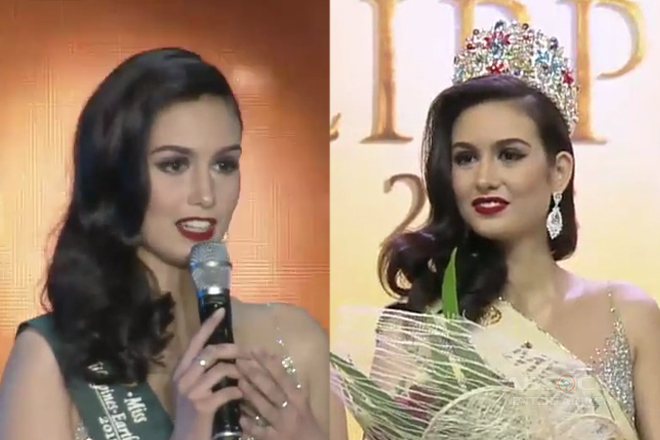 Filipino-Italian model, bagong Ms. Earth Philippines 2018