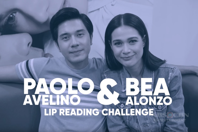 Lip Reading Challenge with Bea and Paulo