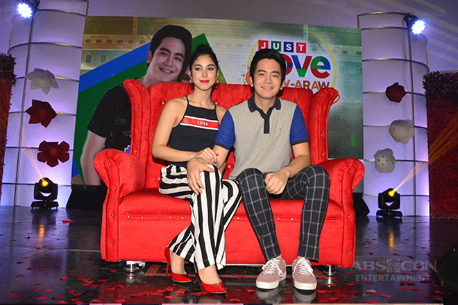 Just Love Araw Araw Fan Meet: JoshLia on the Love Seat