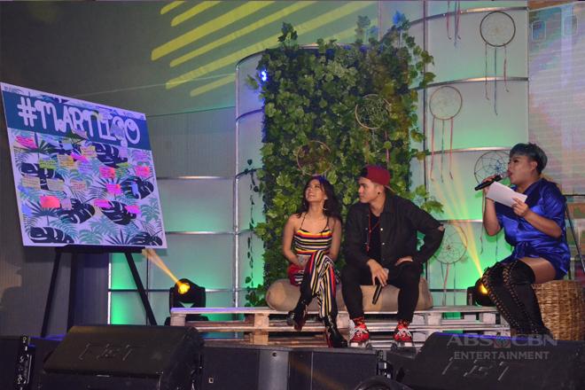 Just Love Araw Araw Fan Meet: MarNigo on the Love Seat