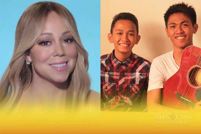 Mariah Carey, humanga sa fan cover ng Pinoy music duo na sina Aldrich at James