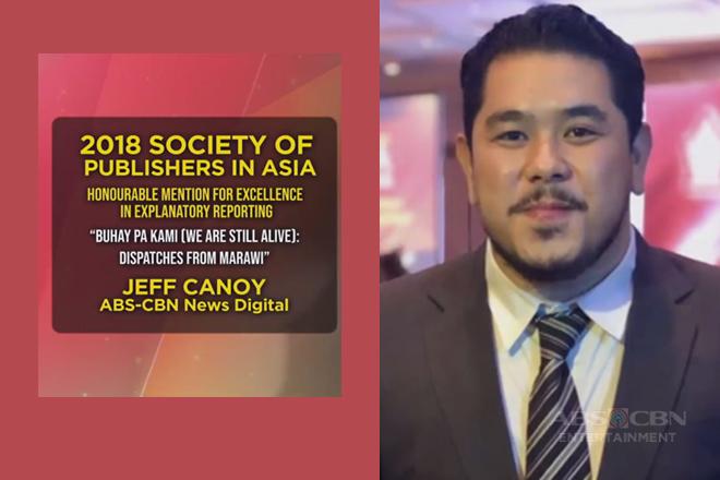 Jeff Canoy at Jun Sepe ng ABS-CBN News, wagi sa 2018 Society of Publishers in Asia