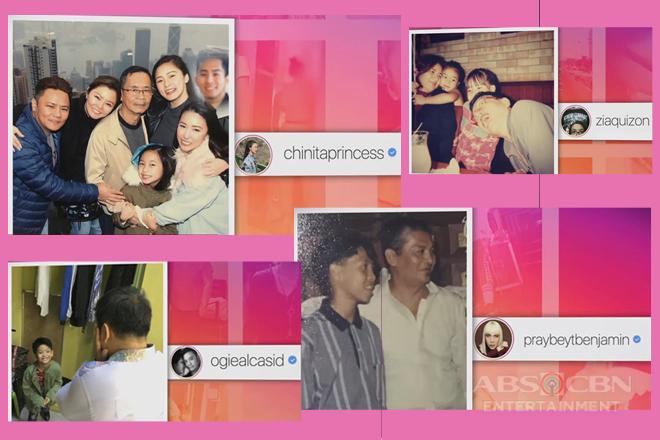 Celebrities, nagbigay-pugay sa kani-kanilang ama ngayong Father's day