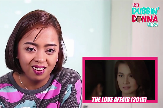 The Dubbin Donna Show: Donna Cariaga dubs Star Cinema movies
