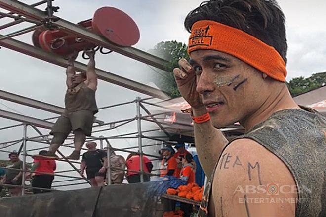 Xian Lim, ipinakita ang lakas sa sinubukang obstacle course