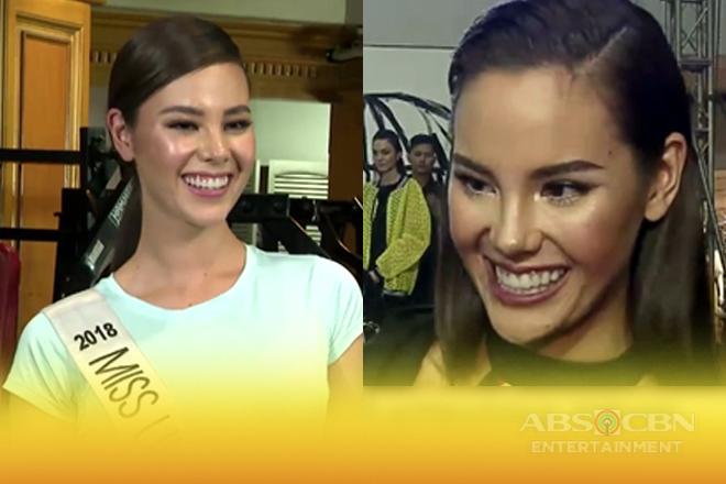Catriona Gray, todo na ang paghahanda para sa Miss Universe pageant