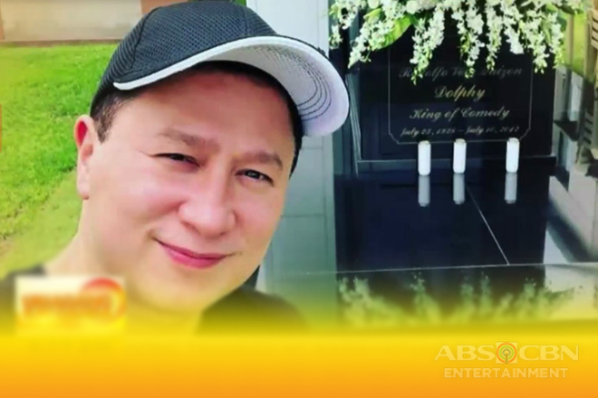 Eric Quizon, binisita ang bagong tahanan ng namayapang si comedy king Dolphy